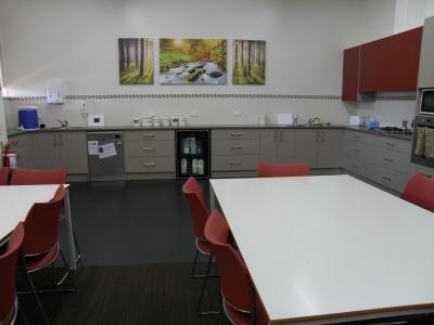 After - Heritage College Staff Kitchen