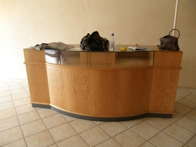 Before - Reception Counter