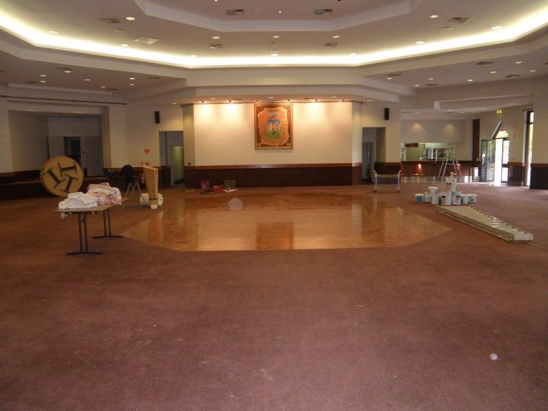 Before: Flooring, window furnishings, paint selections -  San Giorgio La Molara Community Centre - Payneham