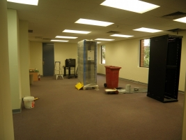 Before: Office fitout